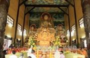 Cộng đồng người Việt tưởng niệm danh tăng đất Việt tại Lào
