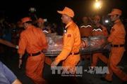 Tàu Hải Thành 26 bị đâm chìm: Đưa thi thể Đại phó tàu về bờ
