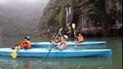 Thuyền kayak được phép hoạt động trở lại trên vịnh Hạ Long