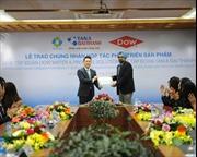 Tân Á Đại Thành và Dow Water & Process Solutions công bố thoả thuận hợp tác phát triển sản phẩm R.O tại Việt Nam