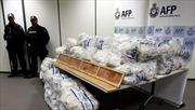 Gần nghìn kg ma túy đá giấu trong hộp ván lát sàn Trung Quốc