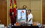 Trưởng ban Dân vận Trung ương Trương Thị Mai làm việc tại Hà Giang