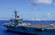 Tàu sân bay USS Carl Vinson áp sát, Mỹ và Triều Tiên tiến gần hơn đến xung đột