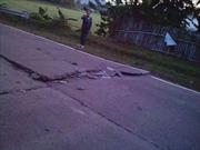 Động đất mạnh 6 độ Richter phá hủy nhiều nhà cửa ở Philippines