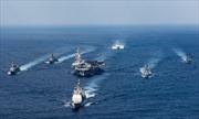 Tàu chiến Nhật Bản nhập cuộc với USS Carl Vinson đến bán đảo Triều Tiên