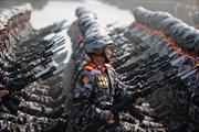 Hình ảnh lễ diễu binh ấn tượng tại Triều Tiên