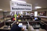 Số người Mỹ nhận trợ cấp thất nghiệp thấp nhất trong 17 năm