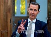 Tổng thống Assad cáo buộc Mỹ tiếp tục muốn lật đổ chính quyền Syria