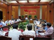 Kiểm tra công tác quy hoạch, bổ nhiệm cán bộ tại Quảng Nam