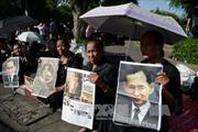 Thái Lan ấn định ngày hỏa táng thi hài cố Vương Bhumibol