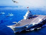 Tuyên truyền về tàu sân bay, Hải quân Trung Quốc đăng ảnh photoshop thảm họa