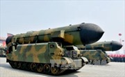 Triều Tiên đăng video tấn công giả định Mỹ, bắn cháy tàu Carl Vinson