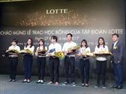LOTTE Mart trao học bổng cho 50 sinh viên xuất sắc tại TP Hồ Chí Minh