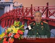 Thượng tướng Nguyễn Chí Vịnh tiếp Đại sứ Trung Quốc tại Việt Nam