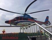TP Hồ Chí Minh: Người dân tò mò khi thấy trực thăng bay thấp nhiều vòng ở trung tâm