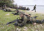 Anh, Pháp, Nhật, Mỹ diễn tập hải quân gần Biển Đông