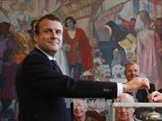 Thăm dò ngoài phòng bỏ phiếu bầu tổng thống Pháp: Ông Macron giành chiến thắng