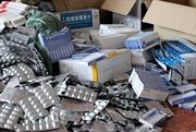'Đột kích' bắt quả tang vụ buôn lậu số lượng lớn thuốc tân dược