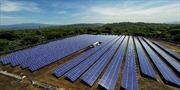 Nhà máy điện Mặt Trời lớn nhất Trung Mỹ đi vào hoạt động
