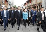 Chủ tịch nước Trần Đại Quang thăm tỉnh Phúc Kiến