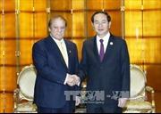 Chủ tịch nước Trần Đại Quang tiếp xúc song phương tại Bắc Kinh