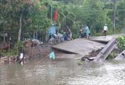 Hậu Giang: Nguy cơ sạt lở tăng cao vào mùa mưa