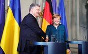 Ukraine và Đức nhất trí 'gây áp lực' với Nga