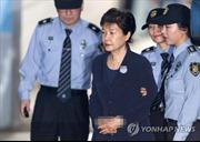Cựu Tổng thống Hàn Quốc Park Geun-hye bị còng tay, hốc hác trên đường ra hầu tòa
