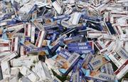 Hơn 1.000 gói thuốc lá lậu bị hải quan Kiên Giang tịch thu
