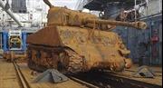 Hải quân Nga vớt được xe tăng Mỹ dưới đáy biển