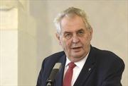 Tổng thống Cộng hòa Séc bắt đầu thăm cấp Nhà nước tới Việt Nam