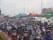 Tìm hướng giải tỏa 'điểm đen' kẹt xe tuyến đường vào cảng Cát Lái