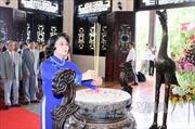 Dâng hương kỷ niệm 105 năm Ngày sinh Chủ tịch Hội đồng Bộ trưởng Phạm Hùng