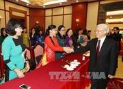 Tổng Bí thư Nguyễn Phú Trọng gặp mặt Nhóm nữ đại biểu Quốc hội khóa XIV