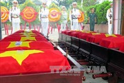 Bình Phước tổ chức lễ truy điệu, an táng 122 hài cốt liệt sĩ
