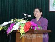 Phó Chủ tịch Thường trực Quốc hội Tòng Thị Phóng thăm và làm việc tại Thái Nguyên
