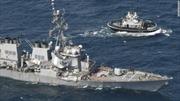 Vụ tàu khu trục Mỹ bị đâm móp: Thủy thủ tàu hàng Philippines đang che giấu điều gì?