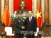 Chủ tịch nước tiếp Phó Chủ tịch Quân ủy Trung ương Trung Quốc Phạm Trường Long