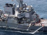 Tiết lộ mới nhất về vụ va chạm khiến tàu khu trục Mỹ USS Fitzgerald bẹp góc, chỉ huy bị thương