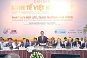 Diễn đàn kinh tế Việt Nam 2017: Phát huy nội lực, tăng trưởng bền vững