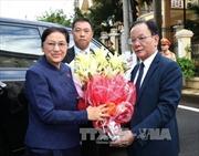 Chủ tịch Quốc hội Lào dự các hoạt động 'Năm đoàn kết hữu nghị Việt Nam-Lào 2017'