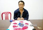 Bắt giữ đối tượng tàng trữ trái phép 1.400 viên ma túy đá