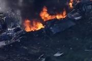 Máy bay quân sự Mỹ rơi, mảnh văng xa 8km, ít nhất 16 người thiệt mạng