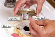 Bếp gas bị nhỏ lửa, xử lý thế nào?