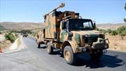 Thổ Nhĩ Kỳ triển khai nhiều xe quân sự áp sát biên giới Syria