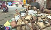 Nhức nhối tình trạng phế thải xây dựng gây ô nhiễm môi trường