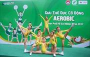 Giải Thể dục cổ động Aerobic TP.HCM tranh cúp Milo