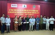 Tập đoàn Tân Hiệp Phát thăm và tặng quà các gia đình thương binh liệt sỹ