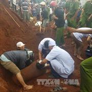 Đắk Nông: Tai nạn lao động làm một người bị đất chôn vùi
