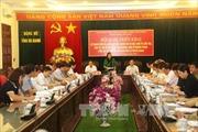 Ban chỉ đạo Trung ương về phòng, chống tham nhũng làm việc tại tỉnh Hà Giang